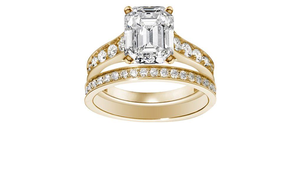 2 ringen met Swarovski Elements