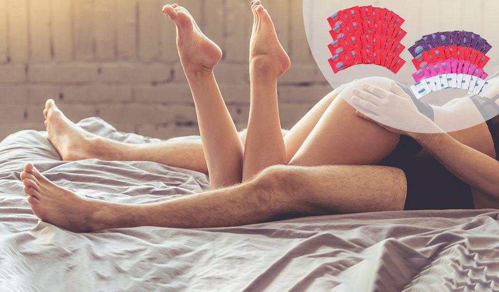 40 Durex condooms