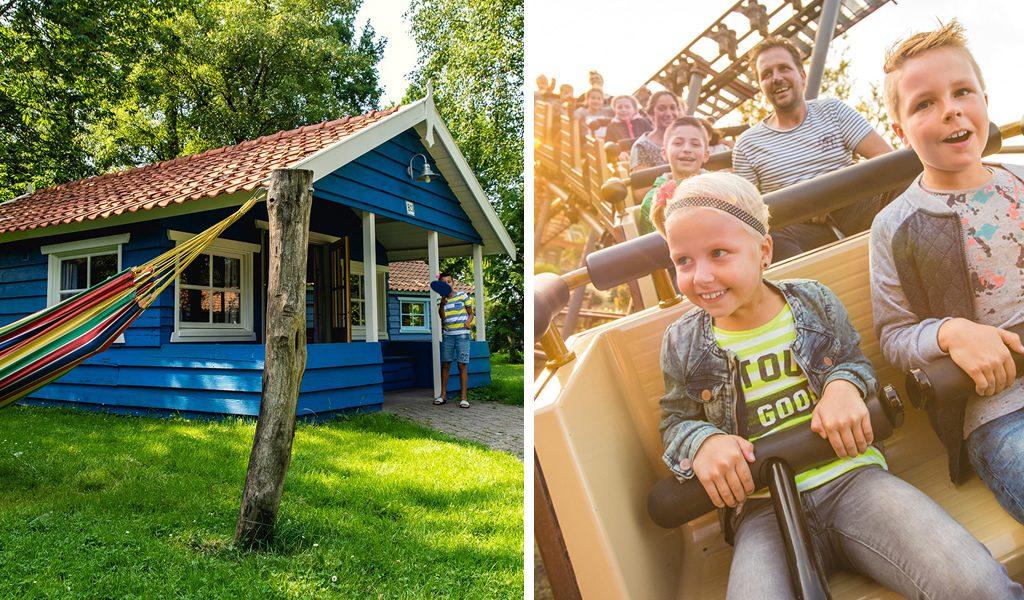 3/4 dagen vakantiepark Slagharen