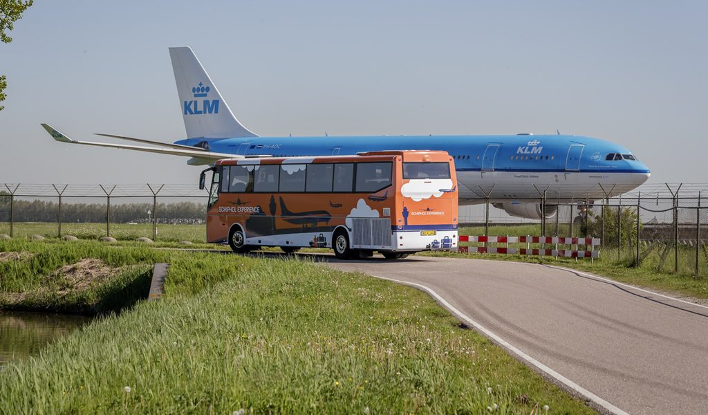 Schiphol Experience bustour Amsterdam