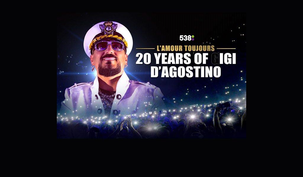 20 Years of Gigi D'Agostino in de Brabanthallen