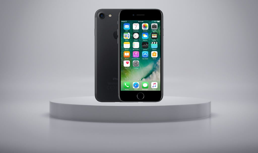 Korting Apple iPhone 7 zwart 32GB