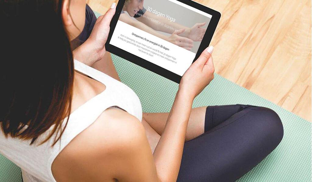 Korting Online cursus 30 dagen Yoga
