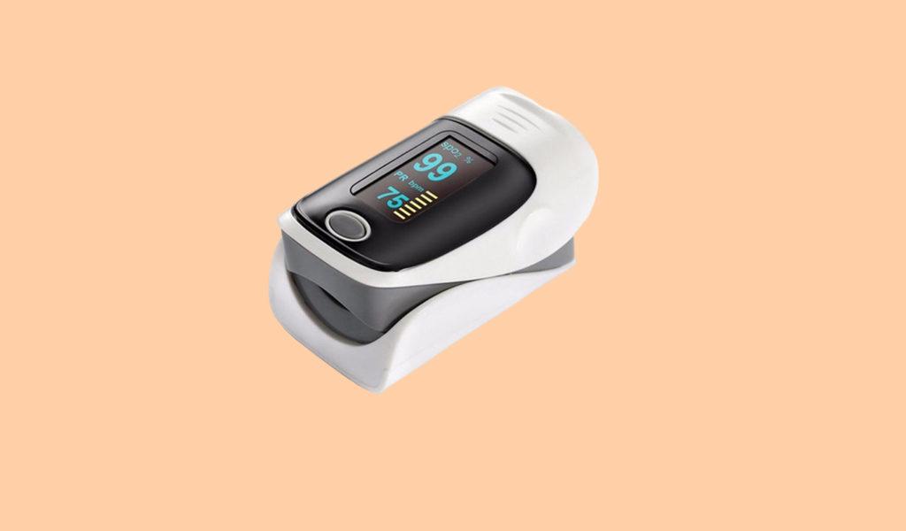Compacte hartslag saturatiemeter
