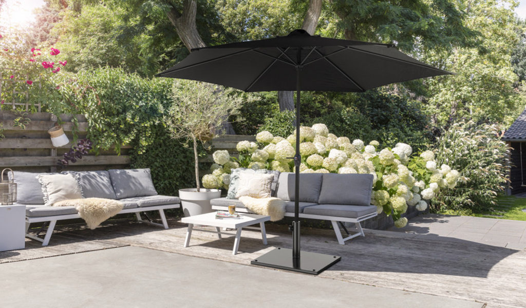 Korting Luxe parasol XXL