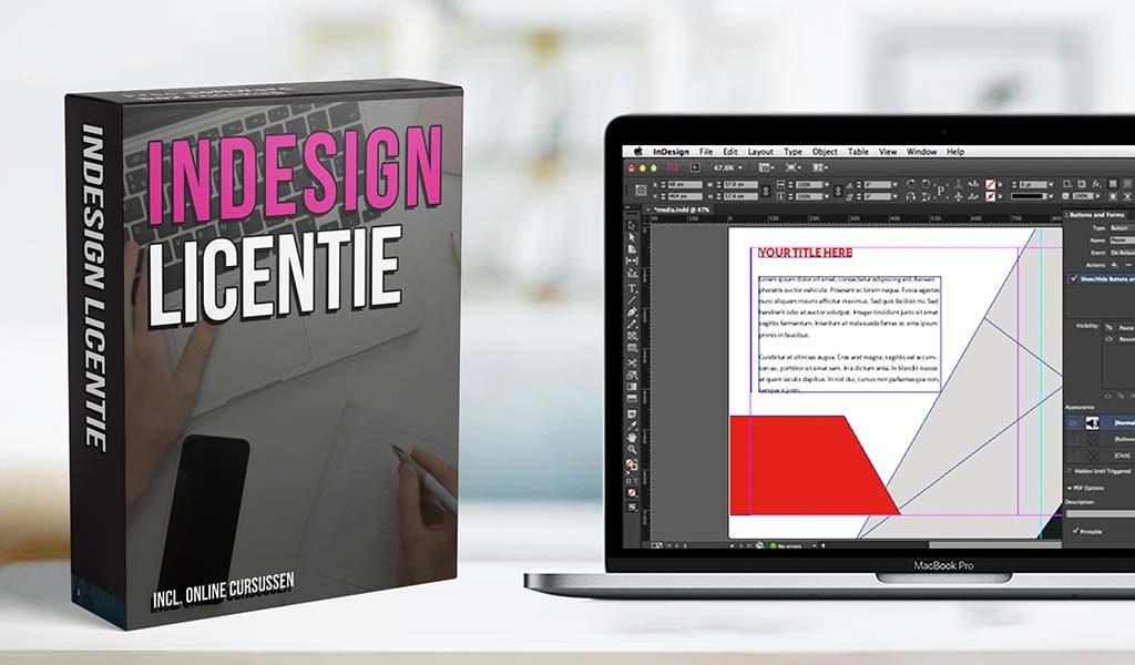Licentie Adobe InDesign
