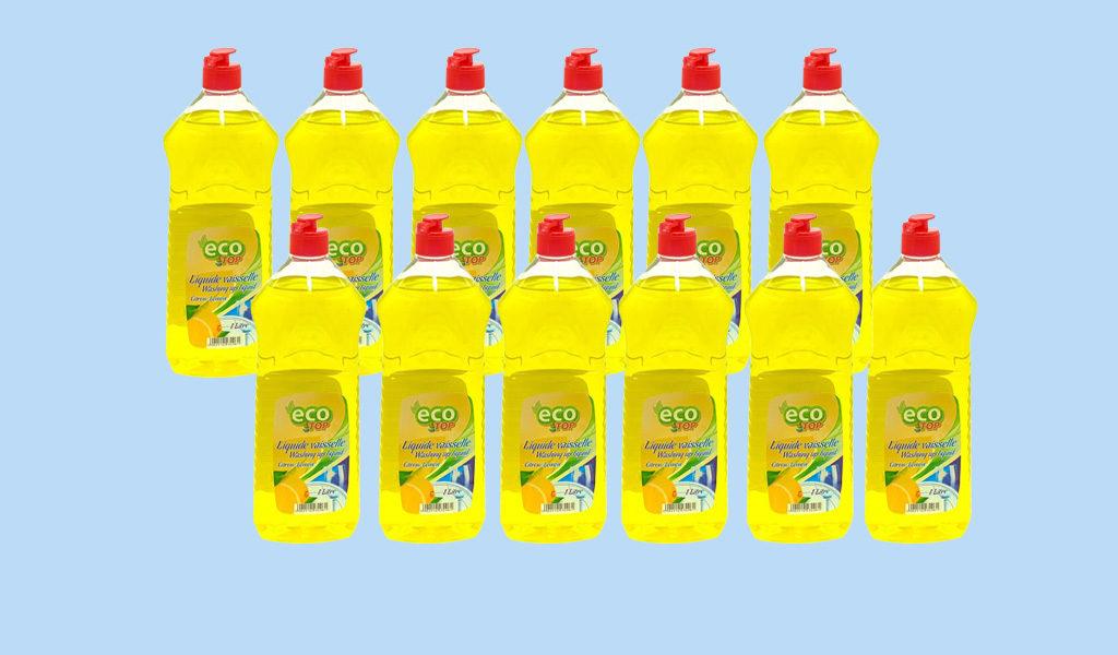 12 flessen Eco top afwasmiddel