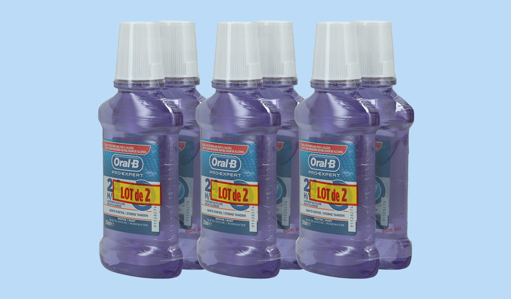 6-pack Oral-B mondwater