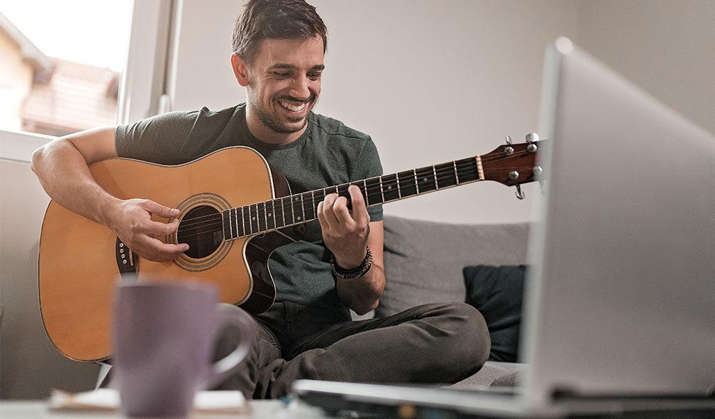 Korting Online muziek cursus ♫