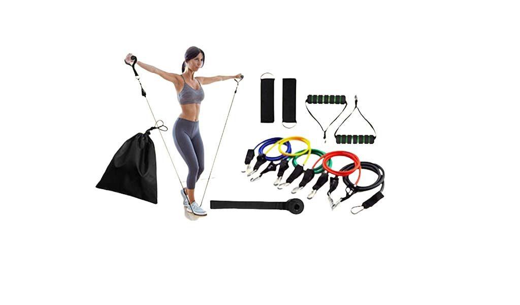 11-delige fitness workoutset