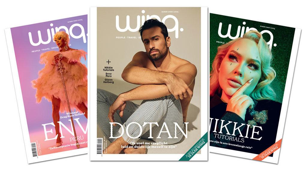 Korting Magazine Winq (3 stuks)