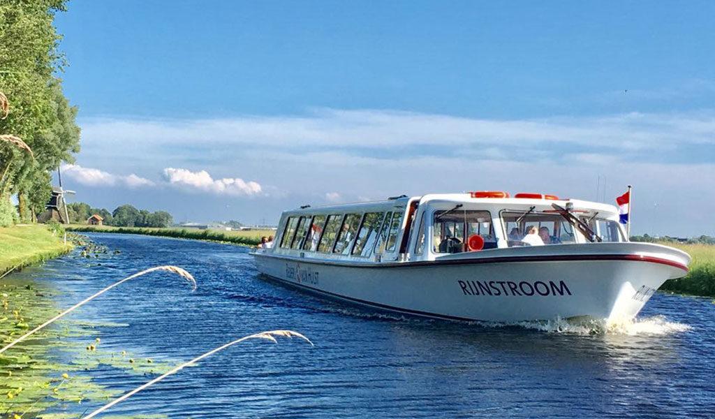 Zomer-herfst cruise vanuit Katwijk + Dahliashowtuin
