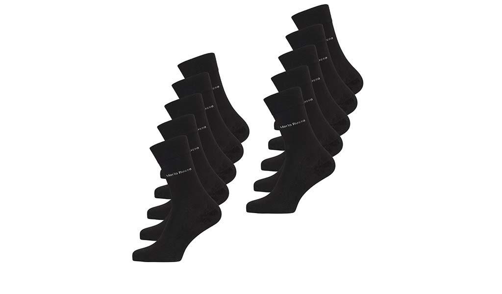 10 paar Mario Russo bamboe sokken